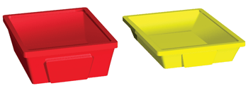 two cubby tray sizes