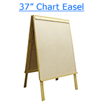 37 inch chart easel