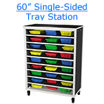60 inch single-sided tray station