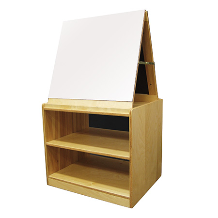 double-sided storage easel
