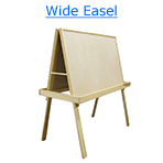 wide easel