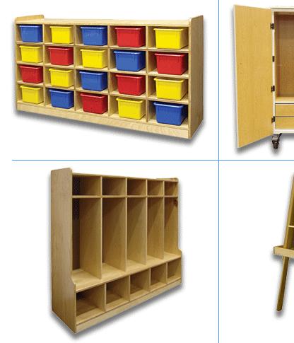 School Concepts Wooden Classroom Furniture