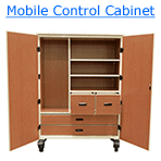 mobile control cabinet